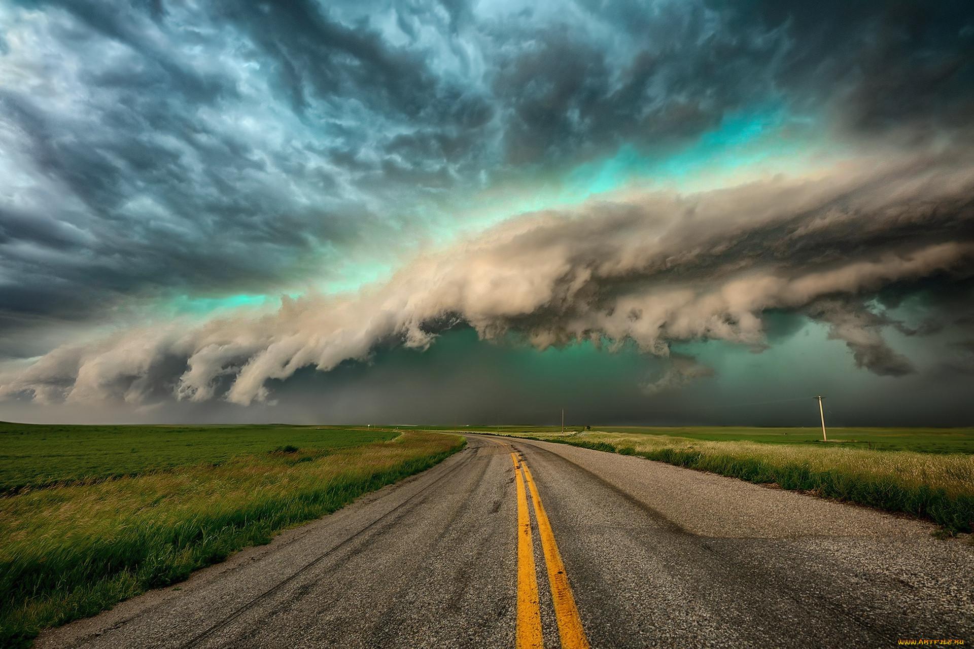 картинки природа дорога в небеса